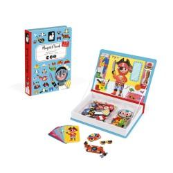 JANOD detská magnetická kniha Oblečenie pre chlapca