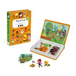 JANOD detská magnetická kniha Štyri ročné obdobia