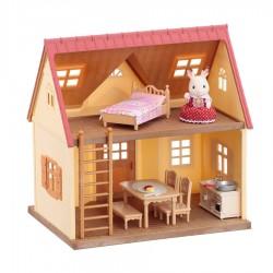 Sylvanian Families 5242 Základný poschodový domček s príslušenstvom