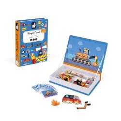 JANOD detská magnetická kniha Dopravné prostriedky