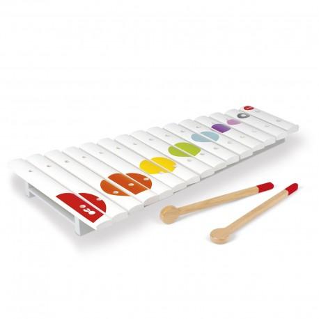 JANOD detský drevený xylofón