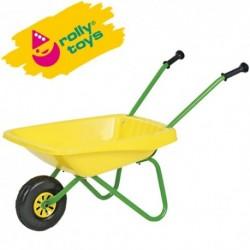ROLLY TOYS Detský fúrik - kov + plast - žltý