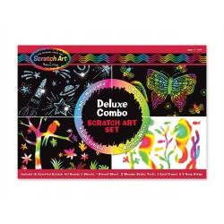 Melissa & Doug Škrabacie obrázky - Deluxe set