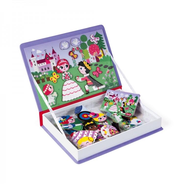 2c66691eff3d ... JANOD detská magnetická kniha Oblečenie pre dievča ...