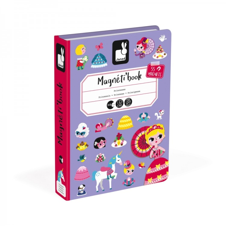 21b8045b576b JANOD detská magnetická kniha Princezná - Najhracky.sk