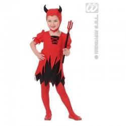 Detský karnevalový kostým - Čertica veľ.110 cm