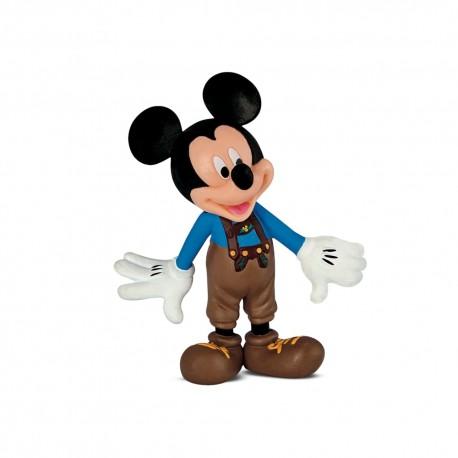 Bullyland Mickey Mouse Clubhouse - Mickey Mouse v kožených bavorských nohaviciach