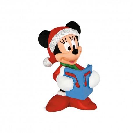 Bullyland Mickey Mouse Clubhouse - Minnie Mouse vo vianočnom oblečení