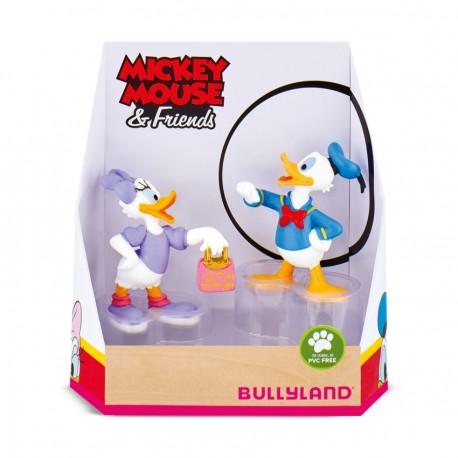 Bullyland Mickey Mouse & Friends - Donald a Daisy rozprávkové figúrky - 2-dielny set