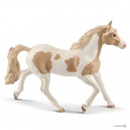 Schleich 13884 kobyla konského plemena Paint Horse