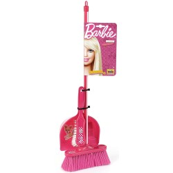 KLEIN Barbie detský upratovací set s metlou a s lopatkou