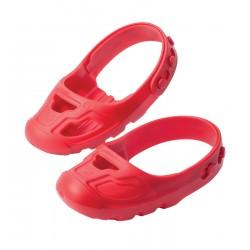 BIG Detské chrániče na topánky - červené