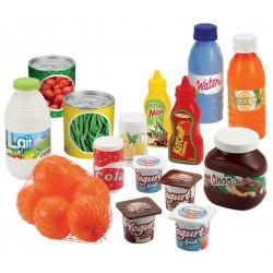 ÉCOIFFIER detské potraviny Pack Drive 20-dielne