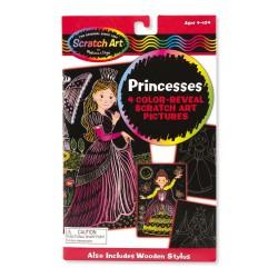 Melissa & Doug Škrabacie obrázky - Princesses