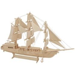 IMP-EX Drevený model natur - Európska loď