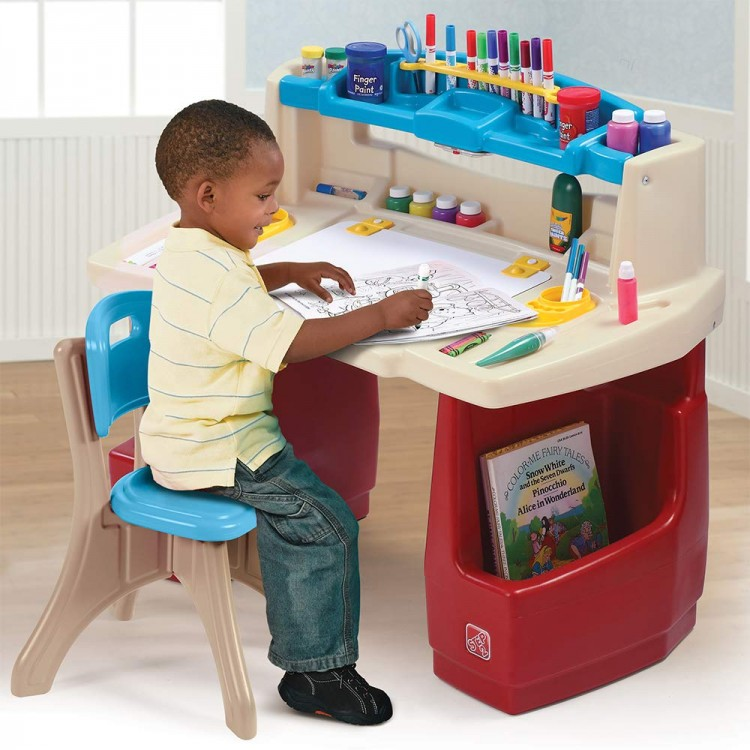 90df788146d9 STEP2 Detský písací stôl Deluxe - Najhracky.sk