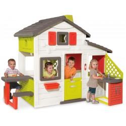 SMOBY Detský záhradný domček Friends s kuchynkou