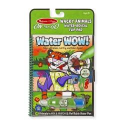 Melissa & Doug Magické pero Neobvyklé zvieratká Water WOW!