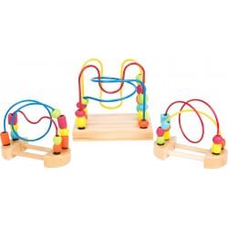 Legler Drevený motorický labyrint - sada 3 kusy
