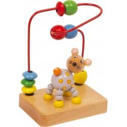 Legler Drevený motorický labyrint pre najmenších - myška