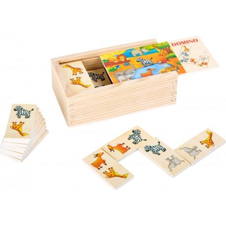 Drevené domino - Safari