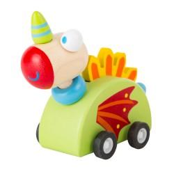 Legler Drevená hračka na zotrvačník - Drak Merlin