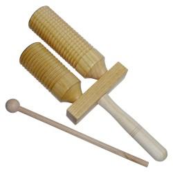 Detský hudobný nástroj - dvojité agogo