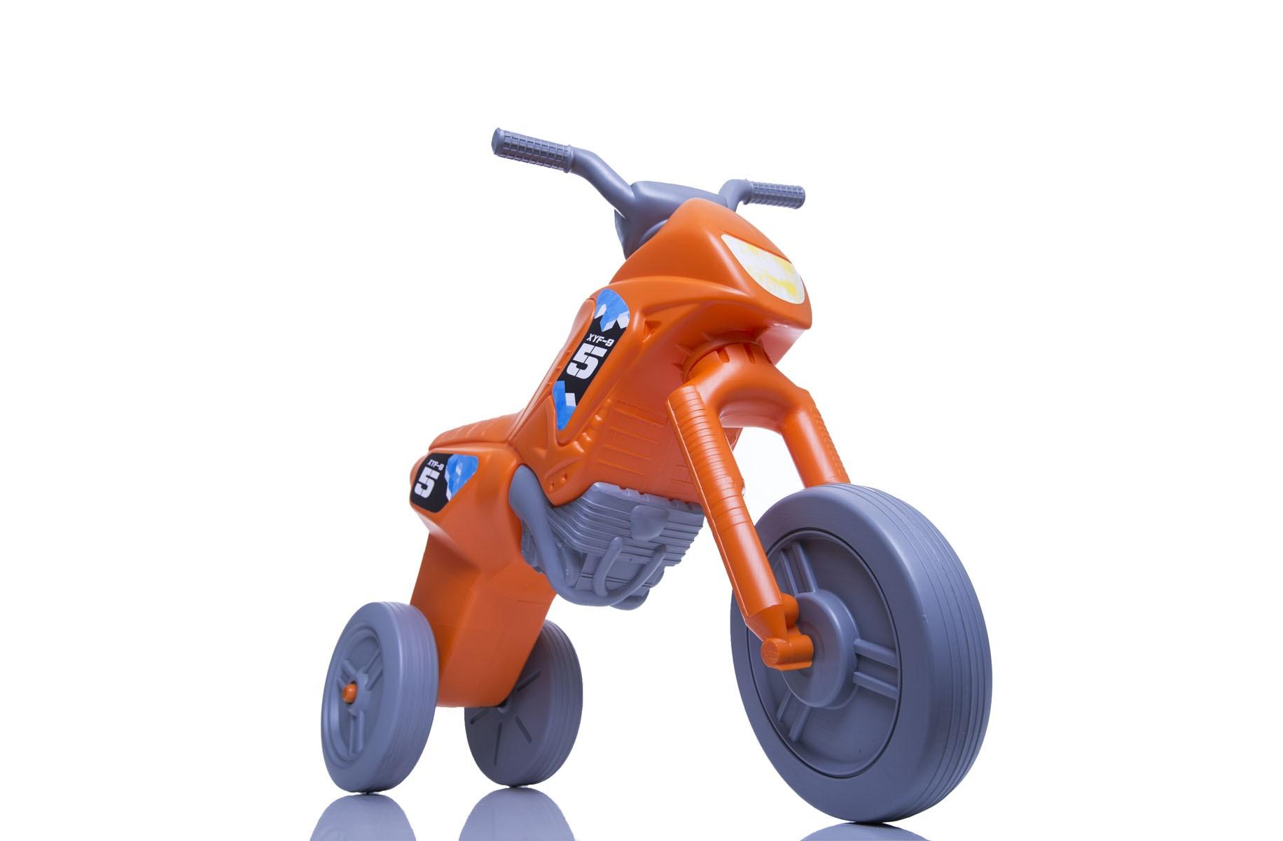768c50703 Enduro MotoKidZ Detské odrážadlo - motorka MINI - oranžovo-šedá -  Najhracky.sk