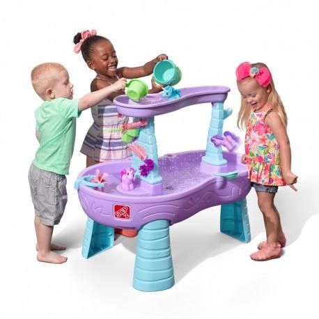 STEP2 Detský stolík na vodu Rain Showers & Unicorns