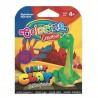 Colorino Kids farebná modelovacia hmota Light Clay Dino - set na zhotovenie zvieratka - Diplodocus