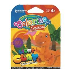 Colorino Kids farebná modelovacia hmota Light Clay Dino - set na zhotovenie zvieratka - Tyrannosaurus