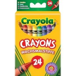 Crayola - farebné voskovky 24ks