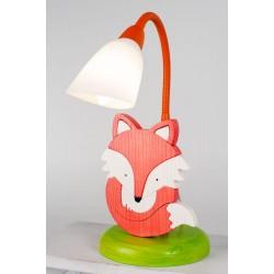 Detská stolná lampa - líška