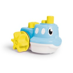 WOW Kamaráti do kúpeľa - modrá loďka