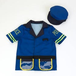 KLEIN Detská policajná uniforma s čiapkou