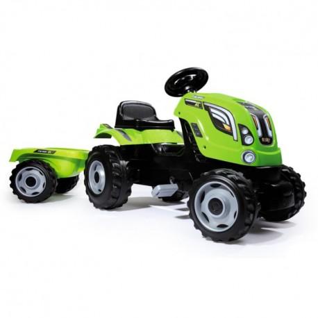 SMOBY šlapací traktor s prívesom Farmer XL