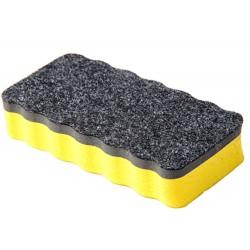 iGadgitz Home magnetická špongia na utieranie tabule 1 kus - žltá