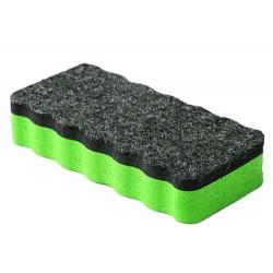 iGadgitz Home magnetická špongia na utieranie tabule 1 kus - zelená