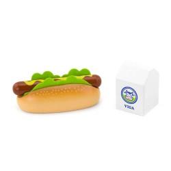 VIGA drevený hot-dog a mlieko