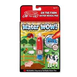 Melissa & Doug Magické pero Na farme Water WOW!