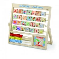 VIGA Drevená hra - Učíme sa abecedu - angličtina
