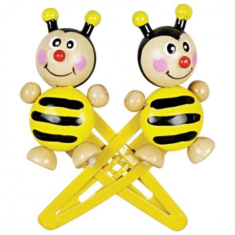 Pukačky do vlasov - včielky
