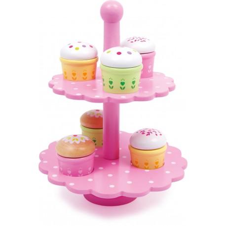 Legler Drevené muffiny na stojane
