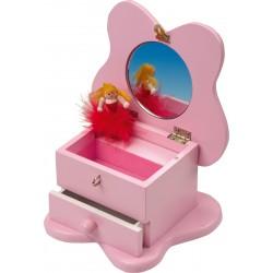Detská hracia šperkovnička s melódiou