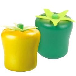 Legler Drevená paprika žltá a zelená - 2 kusy