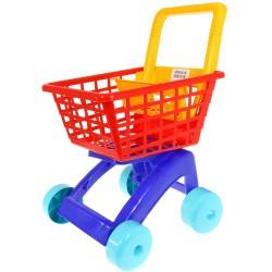 Dohány Detský nákupný vozík - červený 5022