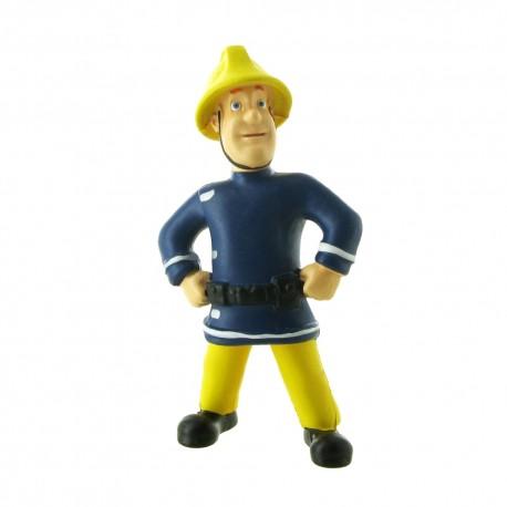 Comansi požiarnik Sam - Sam požiarnik v prilbe rozprávková figúrka