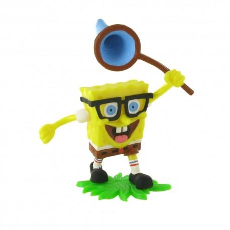 Comansi SpongeBob - Sponge Bob so sieťkou na motýle rozprávková figúrka