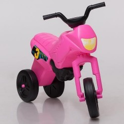 Enduro MotoKidZ Detské odrážadlo - motorka MAXI - ružová
