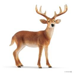 Schleich 14818 lesné zvieratko jeleň bielochvostý samec